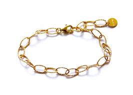 sparkle chain bracelet gold