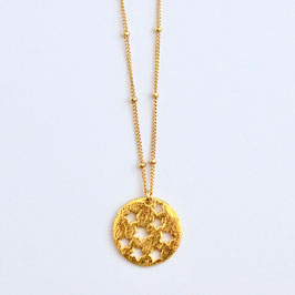 Long Star Amulet Necklace Gold