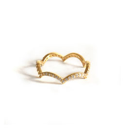 ZIRCONIA RING GOLD