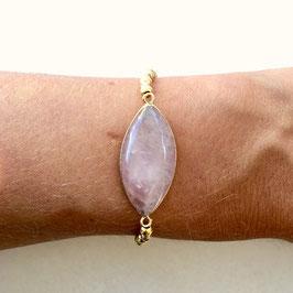 gold roséquarz Bracelet