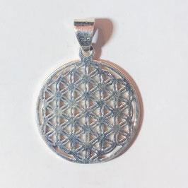 Blume des Lebens Anhänger Silber 925
