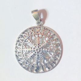 Helm of Awe Anhänger Silber 925