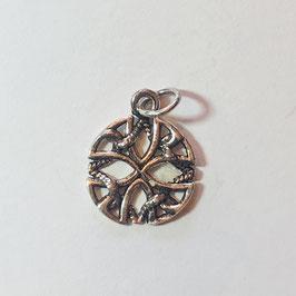 Keltisch Triade Anhänger Silber 925