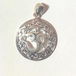 Keltisches Om Anhänger Silber 925