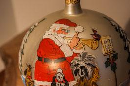Chor der Tiere mit dem Weihnachtsmann