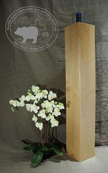 Holz Säulen Kerzenständer aus Ahornholz /2