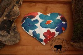 Traubenkernkissen Herz