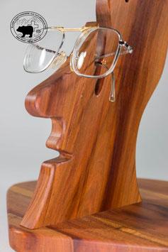 """Einzigartiger Design Brillenständer """"Zaba"""" aus Zwetschgenholz"""