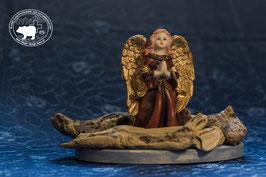 Designschwemmholz Dekoration mit betendem Engel 2