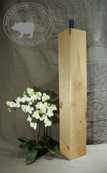 Holz Säulen Kerzenständer aus Ahornholz /1