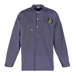 """Fischerhemd """"L. Marleen"""" mit Patch in dunkelgrün"""