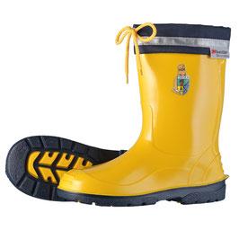 """Kinder-Regenstiefel """"Tubifex"""" gelb mit Logopatch"""