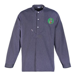 """Fischerhemd """"L. Marleen"""" mit Patch in hellgrün"""