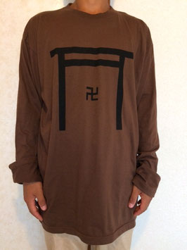 「PRAYERS」Long Sleeve  Monk Tシャツ