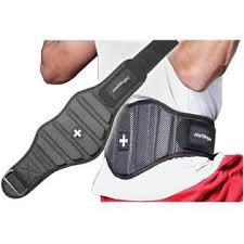 Harbinger-Firm Fit Contoured Belt Black