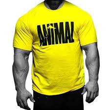 Universal Sportswear Animal Iconic Shirt Jaune