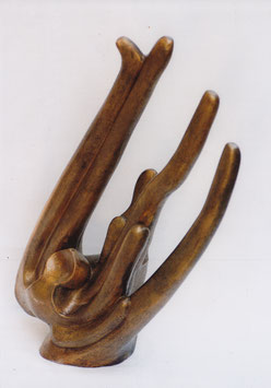 Sunbird, Sculpture en bronze tiré à la cire perdue, épreuve 1/8