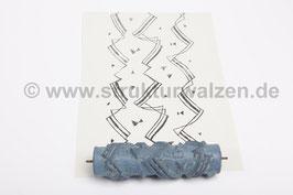 Musterwalze 2017-3903 mit Bändern - 15cm -  (K18.11)