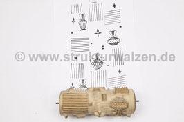 Musterwalze 2021-0133 mit Küchenmotiven Wasserkanne Kanne Karaffe Krug ()