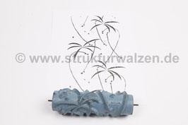 Musterwalze 2019-0081 mit zarten Blättern (50er 60er Jahre) - 15cm - (K18.13)