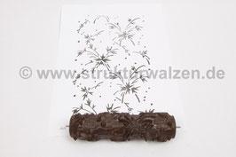 Musterwalze 2020-1980 mit floralen Elementen / Beeren - (K18.11)
