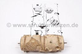 Musterwalze 2020-2347 mit Küchenmotiven Wasserkanne Kanne Karaffe Krug Karoptten ()