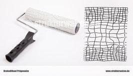 Strukturwalze Krokodil · Muster mit Krokodilhaut · Krokodilstruktur · Breite: 250mm