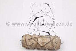Musterwalze 2021-0384 mit dreizackigem Stern - 15cm - (K21.3)