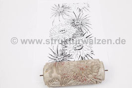 Musterwalze 2021-0213 mit schönem floralem Muster der 70er Jahre- (K21.2)