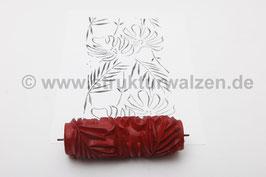 Musterwalze 2017-2429 mit schönem Blätter Muster