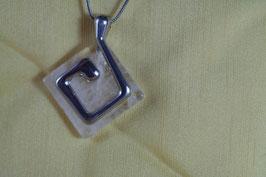 Cristal de roche (Collier terre)