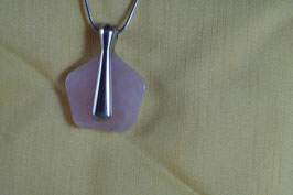 Quartz rose (Collier air)