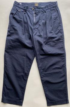 〈PPT-05-3〉 ヘリンボン 2タック パンツ