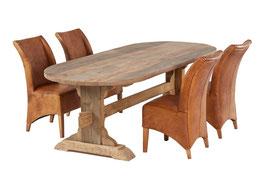 Landhaustisch aus altem Eichenholz Variante-3