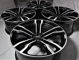 BMW X5M X6M STYLE designTYPE 5623  22インチホイールSET(ブラックorガンメタ)