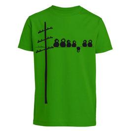 Make some noise Kindershirt grün unisex