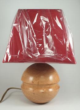 Lampe en bois de cerisier
