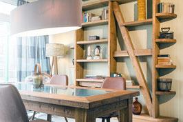 Bücherregal aus Eichenholz