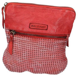 Umhängetasche aus Leder Bull & Hunt in Light Red (Rot) - Modell Minibag