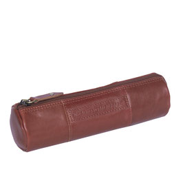 Stiftetui Leder Chesterfield Don Cognac