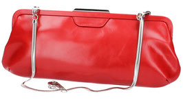 Ledertasche Clutch Picard in Rot
