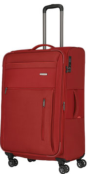 Reisetrolley Travelite 76cm, Capri in Rot mit Vierrad