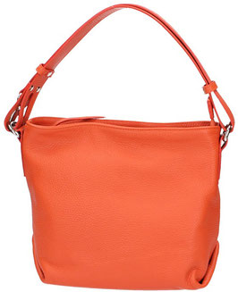 Ledertasche Maxima Orange 25 x 24 x 14 cm