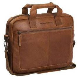 Businesstasche Leder Chesterfield Cognac - Modell Calvi
