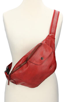 Bear Design Bodybag in Rot