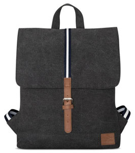 Damenrucksack (7L) in Anthrazit aus Baumwoll Canvas