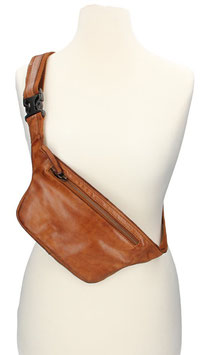 Bear Design Bodybag | Beltbag in Cognac