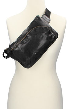 Bear Design Bodybag in Schwarz
