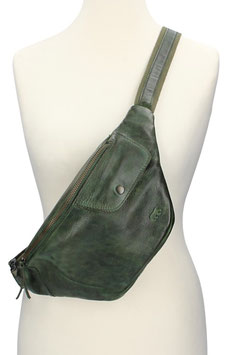 Bear Design Bodybag in Grün