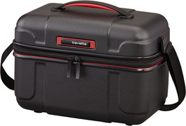 Beautycase Travelite Vector in Schwarz